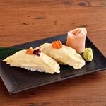 とろ湯葉2種のにぎり寿司