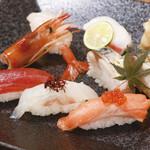 海鮮にぎり寿司盛り合せ