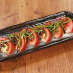 冷やし塩昆布トマト