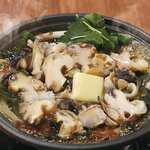 【北海道産】つぶ貝の醤油バター焼(卓上焼)