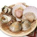 貝焼セット(卓上焼)