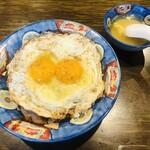 139768332 - 焼豚玉子飯(750円)