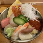 すし善 - 料理写真:特上ちらし寿司