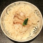 13977593 - 松茸御膳 松茸入りクリームコロッケ・だし巻卵 1050円 の松茸ご飯