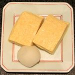 13977612 - 松茸御膳 松茸入りクリームコロッケ・だし巻卵 1050円 のだし巻卵
