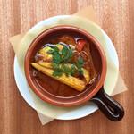 彩り野菜のベジアヒージョ
