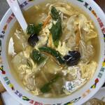 歓迎 - ラーメン 丼サイズのスープ