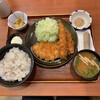 ごはん処 かつ庵 - 料理写真:ロース&えびフライ定食 1,078円 麦飯大盛り110円