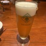 おっちゃんの台所 - 生ビール580円