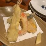 おっちゃんの台所 - お通しの天ぷら450円