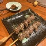 おっちゃんの台所 - 砂肝1本180円