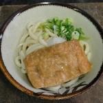 上原製麺所 - 冷ぶっかけ小150円+あげ50円