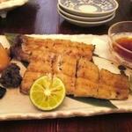 四季の御料理 むさし  - 浜名湖産 うなぎの白焼き  美味!!