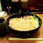 ととどん - 大トロサーモン丼(得盛)