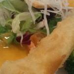 姫路巴里食堂 - 春巻きみたいなの美味しかった