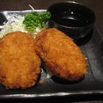 芋蔵 - 黒豚メンチかつ