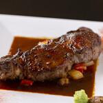 安来グランパ - ある日のステーキ