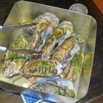 気まぐれ厨房会津わいがや - 料理写真:牡蠣のカンカン焼き