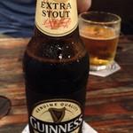 ダブリンガーデン - もちろんギネスビール!