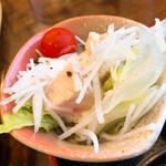 みそかつ梅の木 - 蒸し鶏サラダ