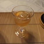 はり清 - 食前酒('12.07)