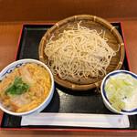 信州屋 - ミニカツ丼セット