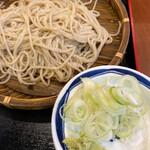 信州屋 - 麺はやや固まりほぐしにくい(爆)