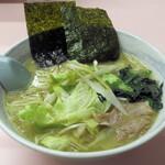 みやこ系らーめん 八十八や - 料理写真:レタスラーメン750円