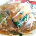 天津プラス - 日替わりランチの野菜天津飯