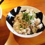 つけ麺 おんのじ - チャーシュー飯(サービス券)