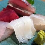 太田和 - 料理写真:刺身盛り合わせ