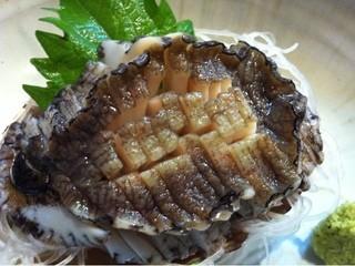 太田和 - アワビの刺身