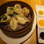 馬馬虎虎 - 中国式蒸し餃子三種盛り合わせ(黒豚と白菜の~、海老とニラの~、季節の~)