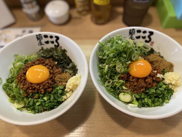 麺屋こころ 大岡山本店の料理の写真