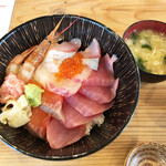 Isohamagyogyou - 本日の贅沢海鮮丼…990円