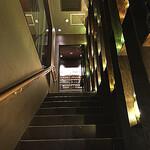 ガストロ スケゴロウ - 階段の先には美味しさが待っています
