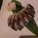 13985355 - 炙り〆サバ546円(2012/07)