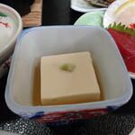 旅館 柳の湯 - 胡麻豆腐