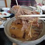 旅館 柳の湯 - 朴葉焼