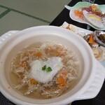 旅館 柳の湯 - イチゴ煮