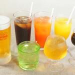 エルフランセ - ドリンク写真:生しぼりシークヮーサーや手作り梅酢ジュース、アセロラあります。