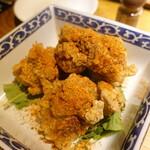 139853818 - 鶏モモ肉の五香粉唐揚げ