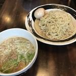 麺処丹治 - 鶏白湯つけ麺+味玉