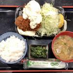 わぶ - 世界一のカキフライ(単品定食) 1,050円
