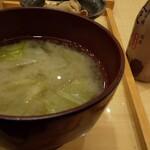 一汁五穀 - 味噌汁