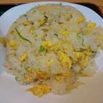 中国料理 青島飯店 - セットの炒飯 アップ