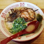 ラーメン サカモト - 博多ラーメン(¥720)