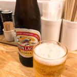 139866289 - 小ビン瓶ビール 450円