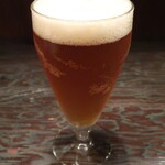 Tapas - グランドキリンIPA(Alc.5.5/キリンビール,複数の希少ホップが織りなす、柑橘の爽やかさと甘く熟した香り。)「やはり外せません。キリンのエリートたちが作った、キリンのなかのキリンビール。苦さとコクと華やかさのバランスが最高!」※メニュー表記通り