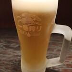 Tapas - 生ビール(キリン一番搾り)